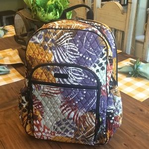 Vera Bradley Campus Tech in Painted Feathers